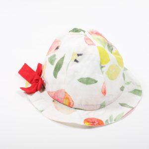 chapeau-bebe-fille-fruits
