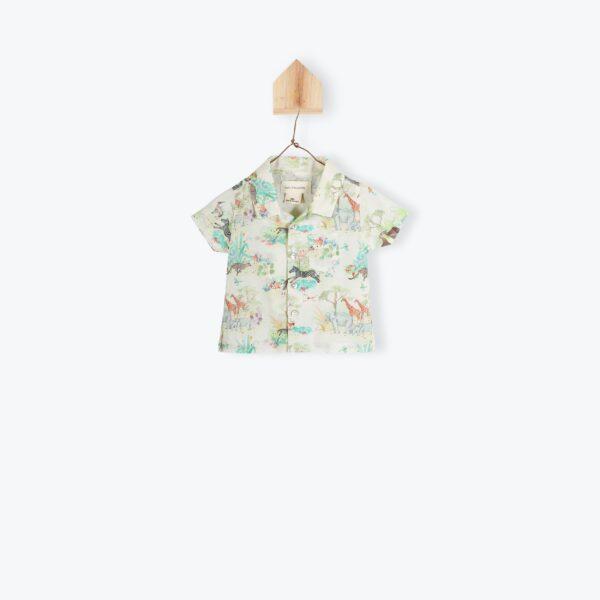 chemise-bebe-imprimee-savane