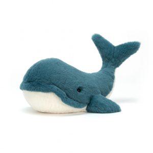 jellycat wally whale baleine peluche