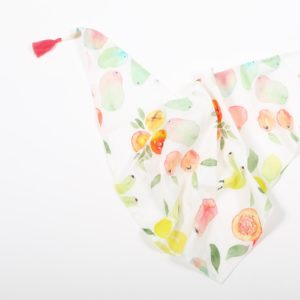 ptriangular-shawl-made-of-cotton-veil-printed-with-the-exclusive-flowers-and-fruits-of-kenya-pattern-all-over-with-two-pompo (1)