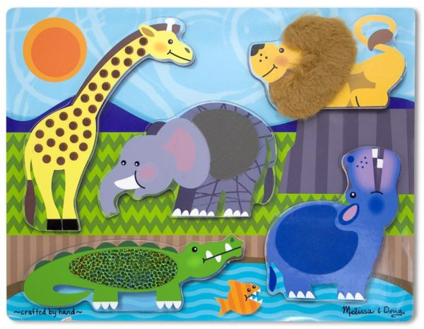 puzzle a texture melissa and doug touch and feel