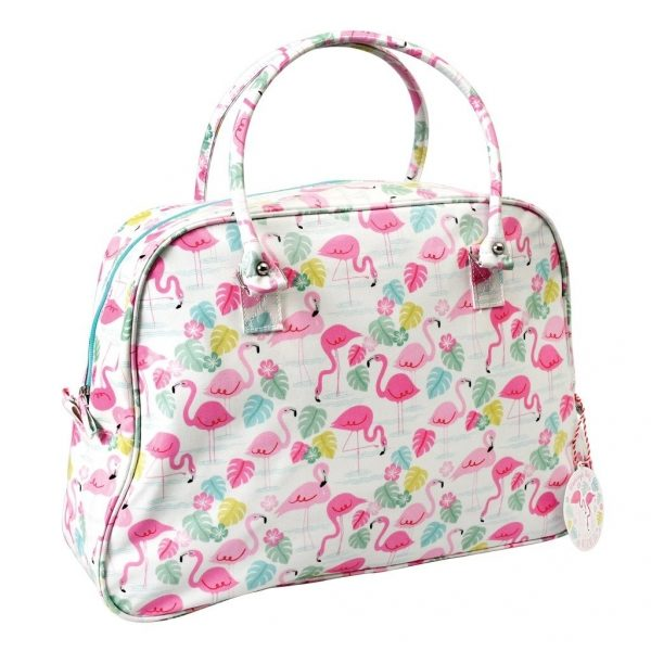 rex sac de week-end flamand rose flamingo