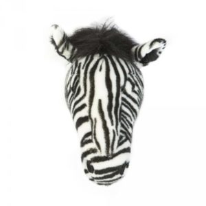 trophee-zebre-animal-peluche-wild and soft