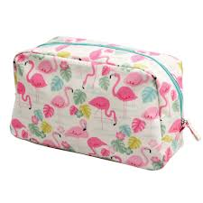 trousse de toilette flamands roses
