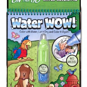 water wow coloriage à l'eau animaux melissa and doug