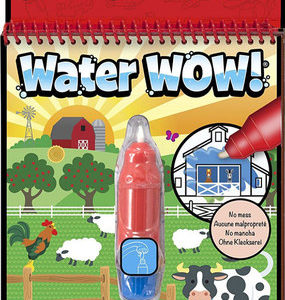 water wow coloriage à l'eau ferme melissa and doug