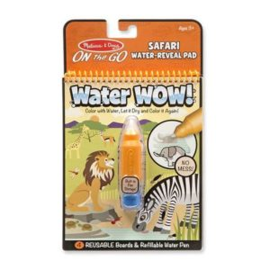 water wow coloriage à l'eau safari melissa and doug