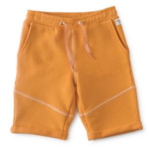 Short garcon uni orange1