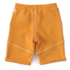 Short garcon uni orange2
