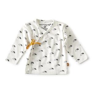 T-shirt bebe croisé