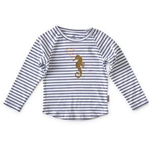 Tee-shirt fille ml a motif