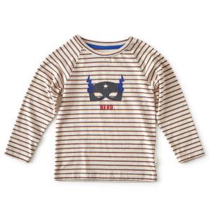 Tee-shirt garcon raye