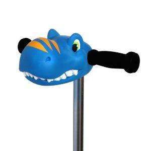 tete-de-trottinette rex bleu