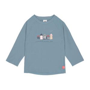 tshirt uv cabine bleu