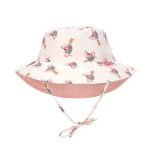 chapeau anti uv mouette corail
